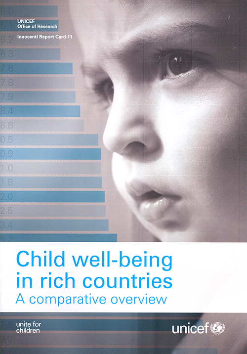 CHILD WELL BEING IN RICH CTRIES