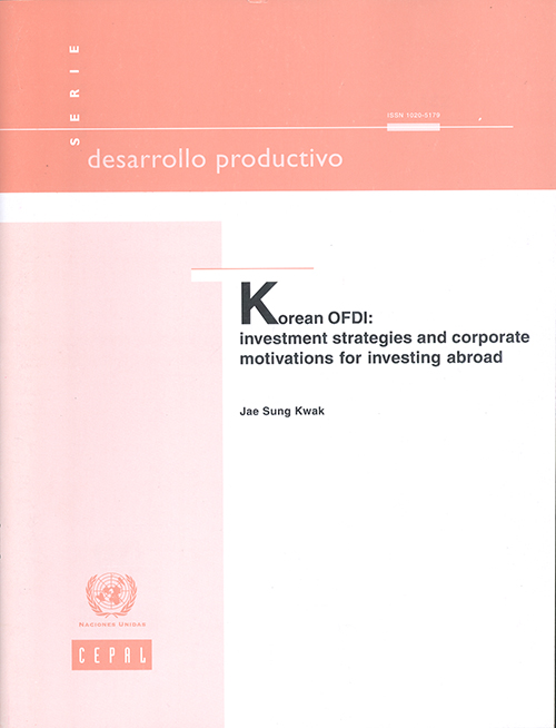 KOREAN OFDI INVESTMENT STRATEGIES