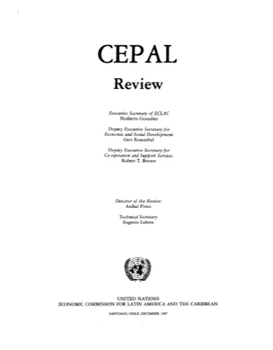 CEPAL REVIEW #33 12/1987