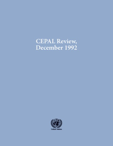 CEPAL REVIEW #48 12/1992
