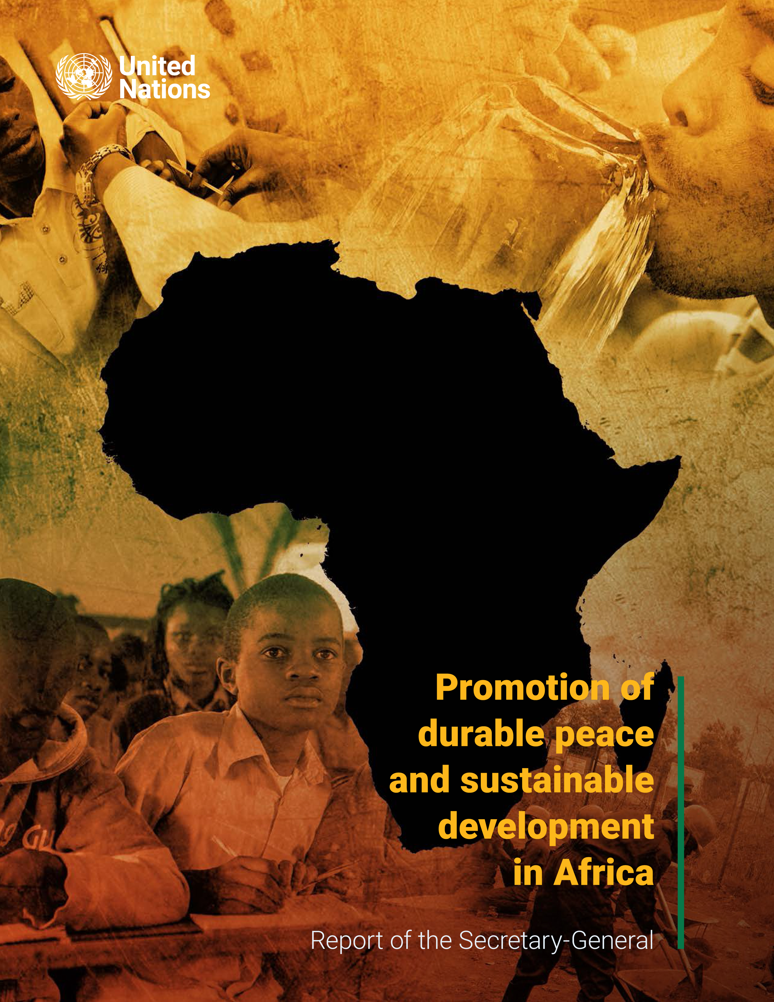 DURABLE PEACE AND SUST DEV AFRICA