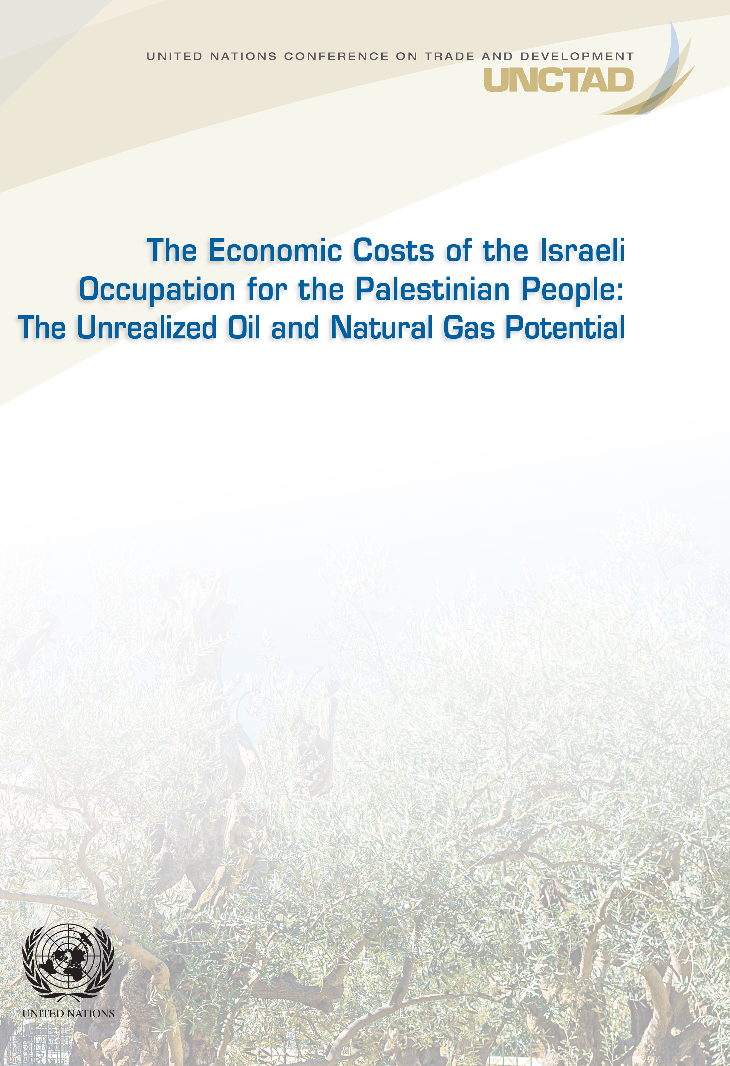 THE ECON COST ISRAELI OCCUPATION