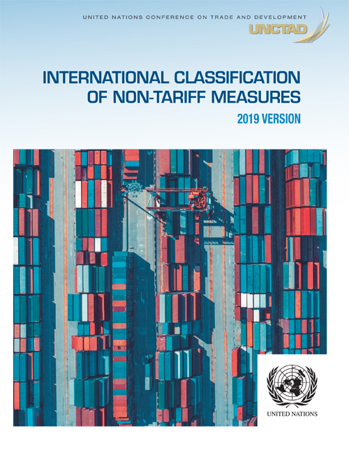 INTERNATIONAL CLASSIFIC NON-TARIFF