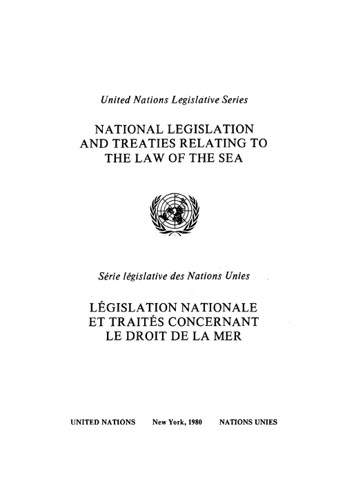 NATIONAL LEGIS & TREATIES RELATING