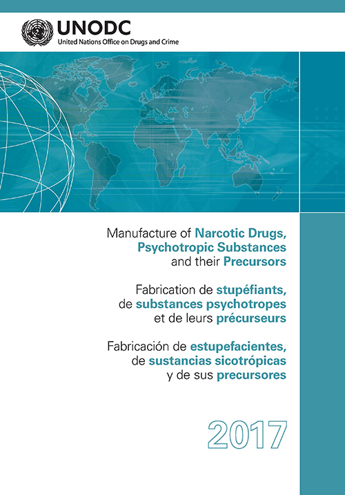 MANUFACTURE NARCOTIC DRUGS 2017