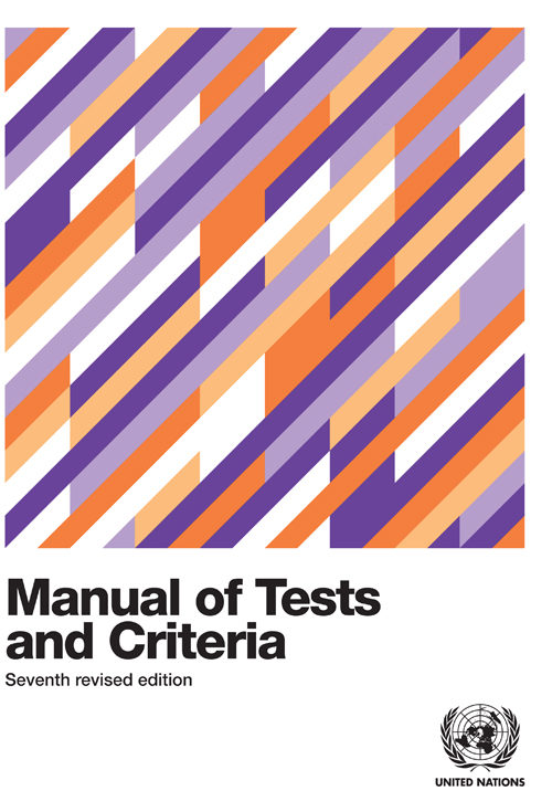 MANUAL OF TESTS & CRITERIA #7