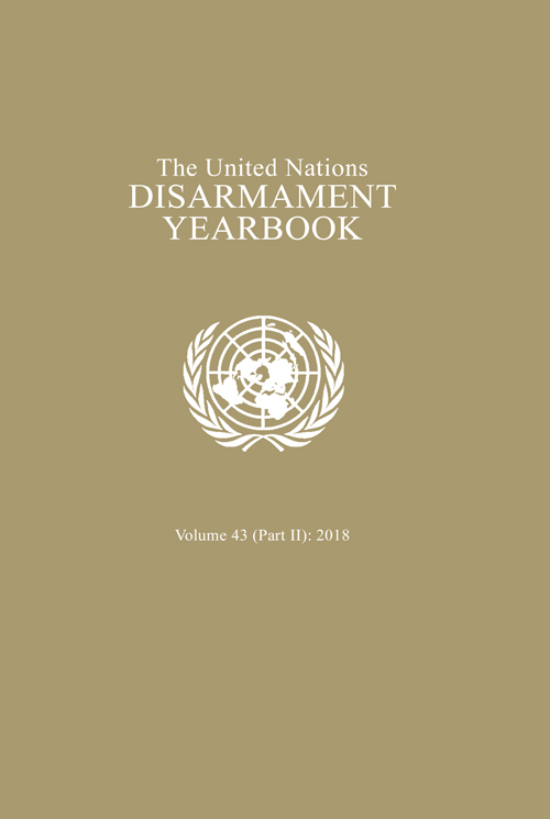 UN DISARMAMENT YRBK 2018 V43 P2