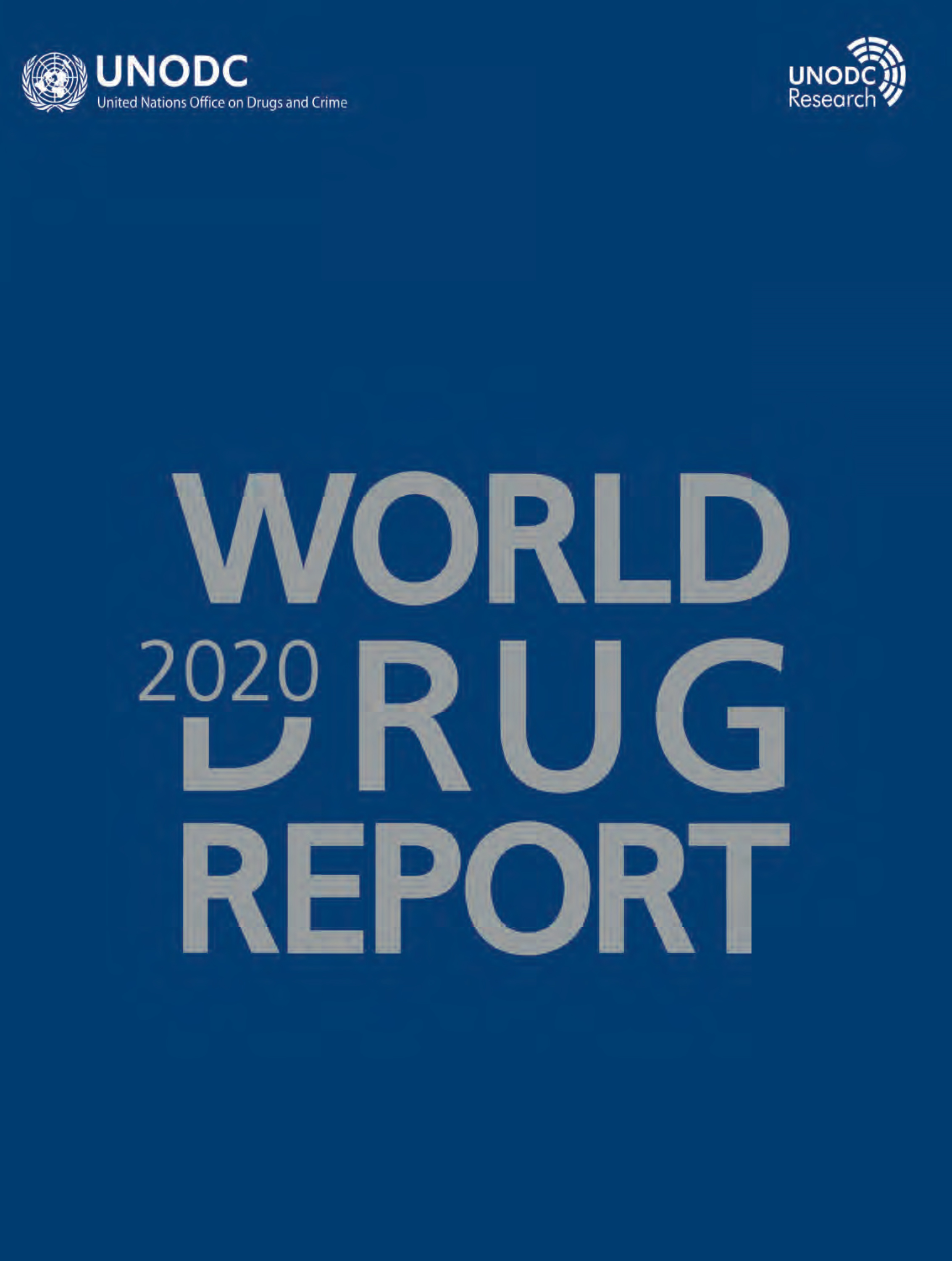 WORLD DRUG RPT 2020 SET 6 BKLTS