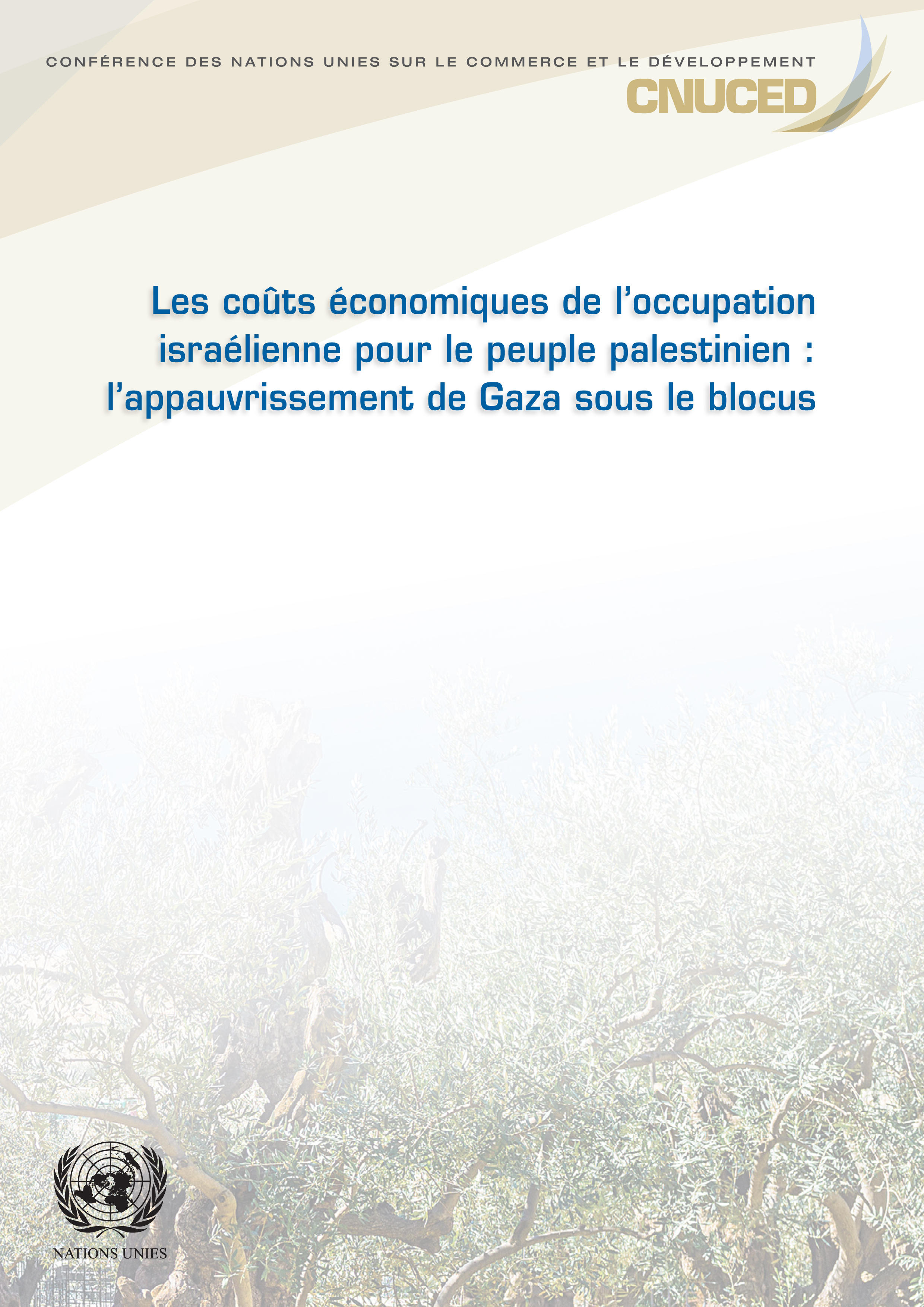 ECON COST ISRAEL OCCUP PALES PEO(F