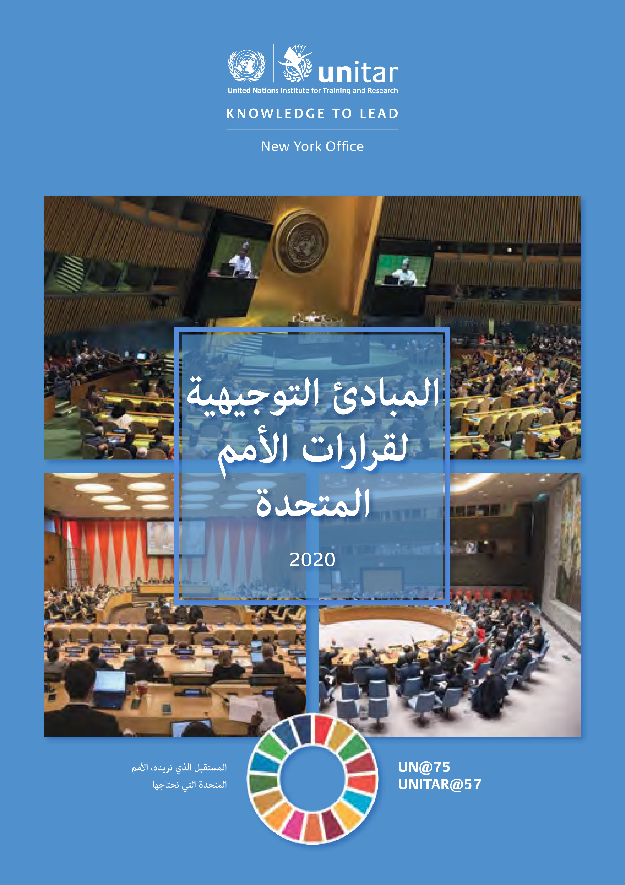 GUIDELINES UN RESOLUTIONS 2020 (A)