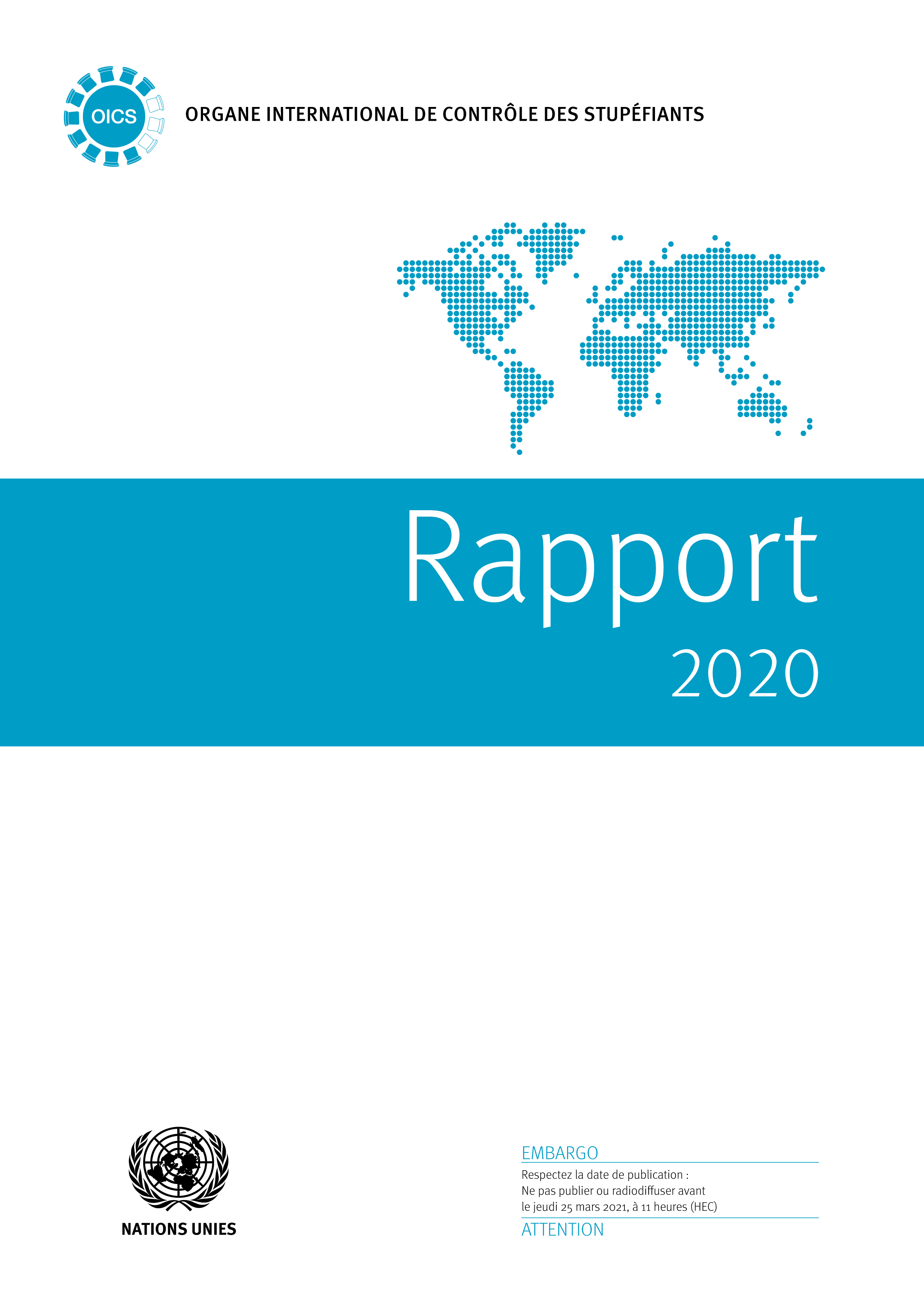 RAPPORT ORGANE INTL CONTROLE 2020
