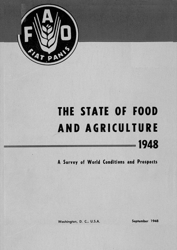 STATE OF FOOD & AGRICULTURE 1948