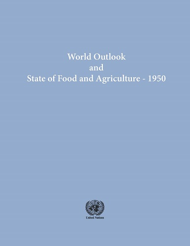 STATE OF FOOD & AGRICULTURE 1950