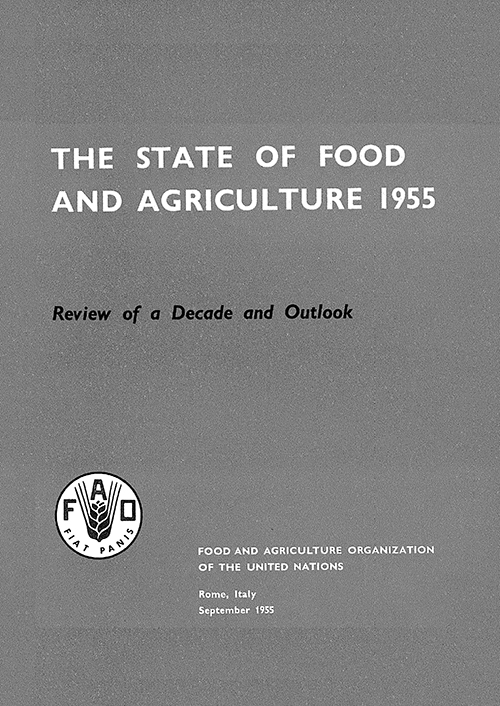 STATE OF FOOD & AGRICULTURE 1955