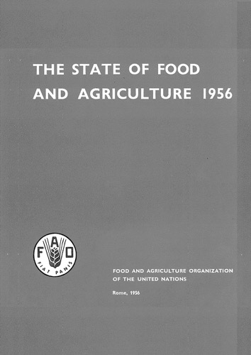 STATE OF FOOD & AGRICULTURE 1956