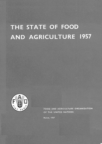 STATE OF FOOD & AGRICULTURE 1957