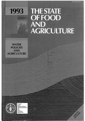 STATE OF FOOD & AGRICULTURE 1993