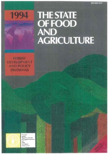 STATE OF FOOD & AGRICULTURE 1994