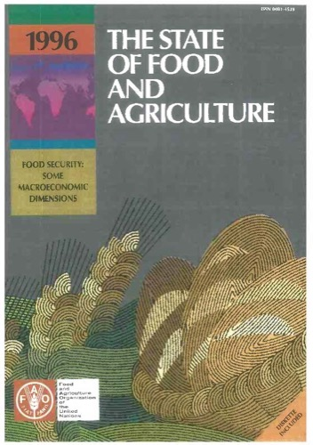 STATE OF FOOD & AGRICULTURE 1996