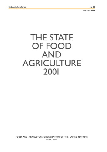 STATE OF FOOD & AGRICULTURE 2001