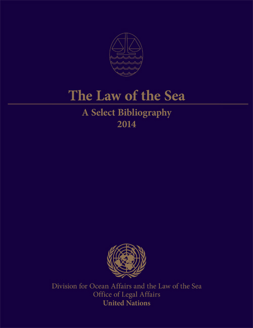 LAW OF THE SEA SELECT BIBL 2014