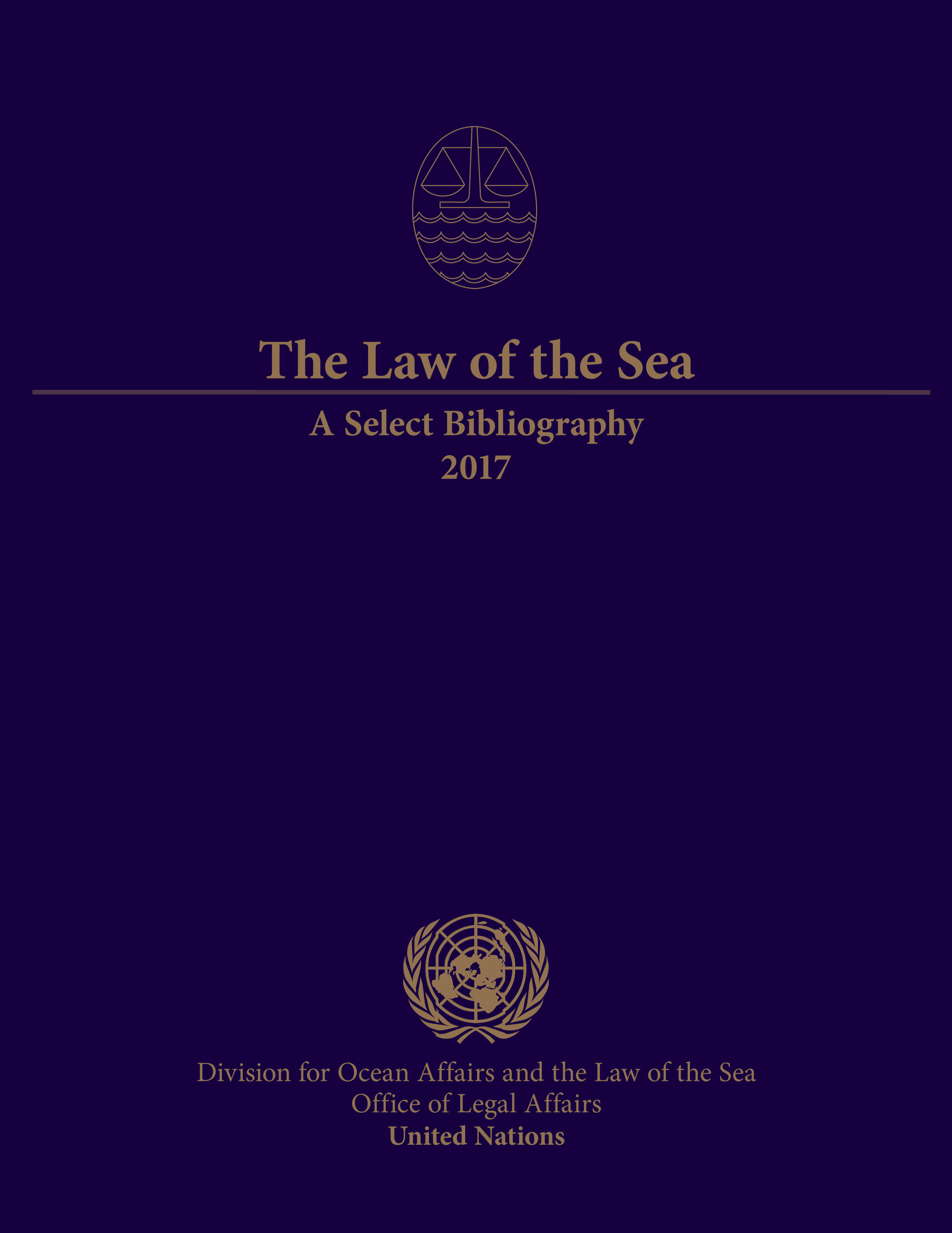 LAW OF THE SEA SELECT BIBL 2017