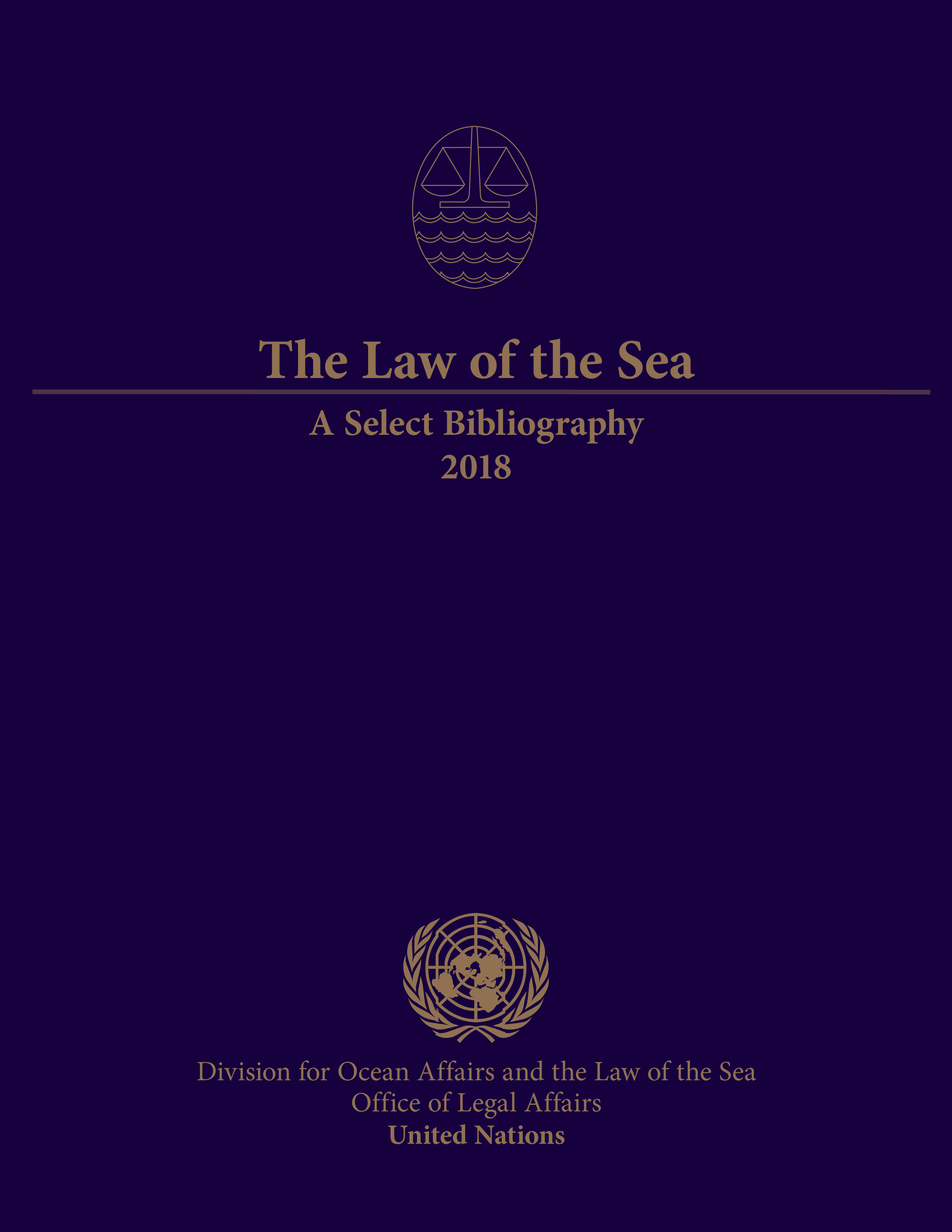 LAW OF THE SEA SELECT BIBL 2018