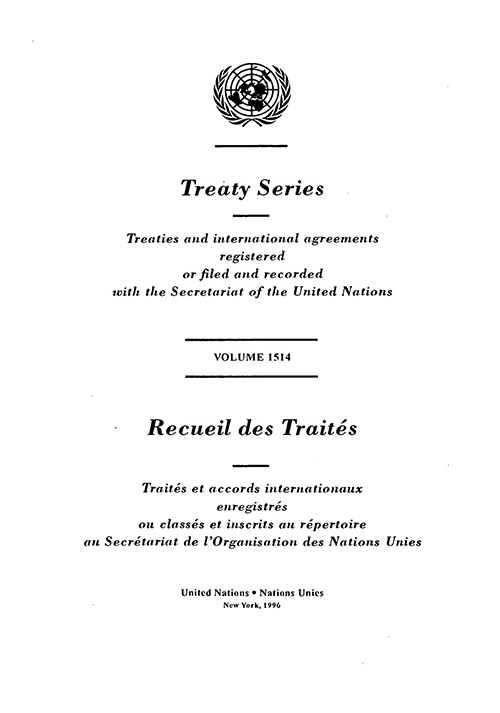TREATY SERIES 1514