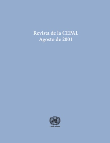 REVISTA DE LA CEPAL #74 AUG 2001