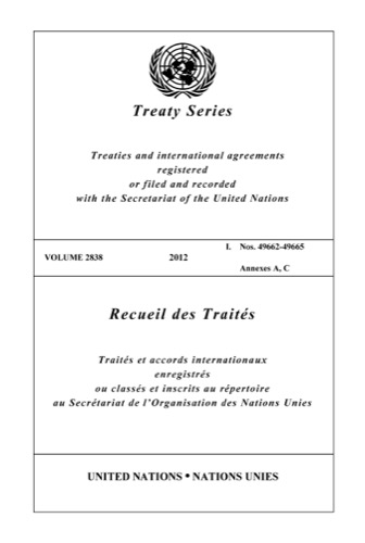 TREATY SERIES 2838