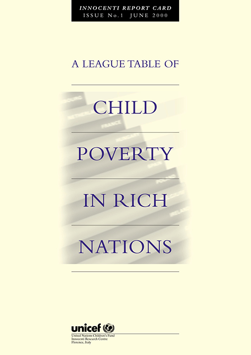LEAGUE TABLE CHILD POVERTY RICH