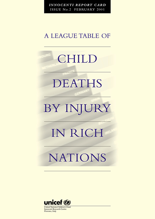 LEAGUE TABLE CHILD DEATHS INJRY