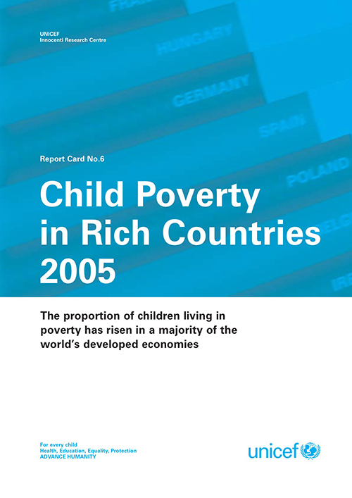 CHILD POVERTY IN RICH COUNTRIES 05