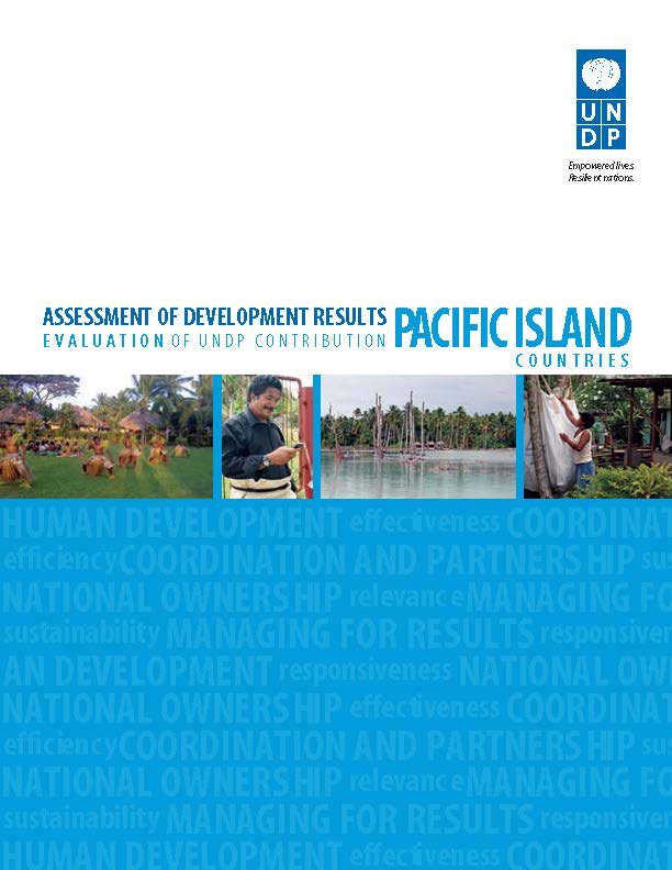 ASSESS DEV RESULTS PACIFIC ISLANDS