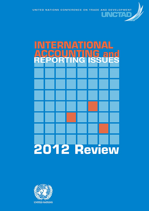 INTL ACC & REPORTING ISSUES 2012