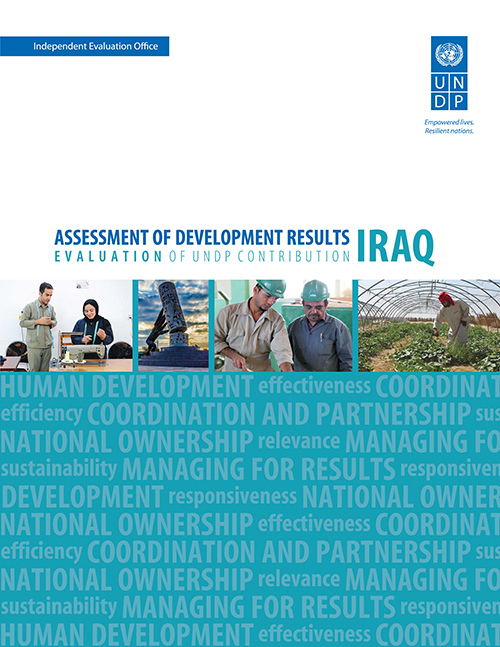 ASSESS DEV RESULTS IRAQ