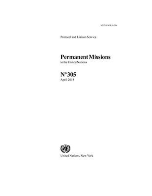 PERMANENT MISSIONS TO UN #305