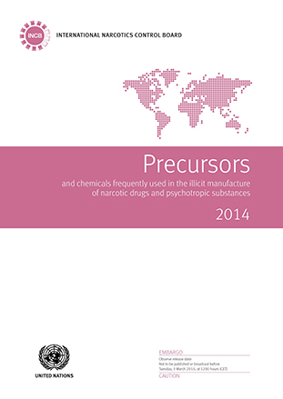 PRECURSORS CHEMICAL FREQ USED 2014