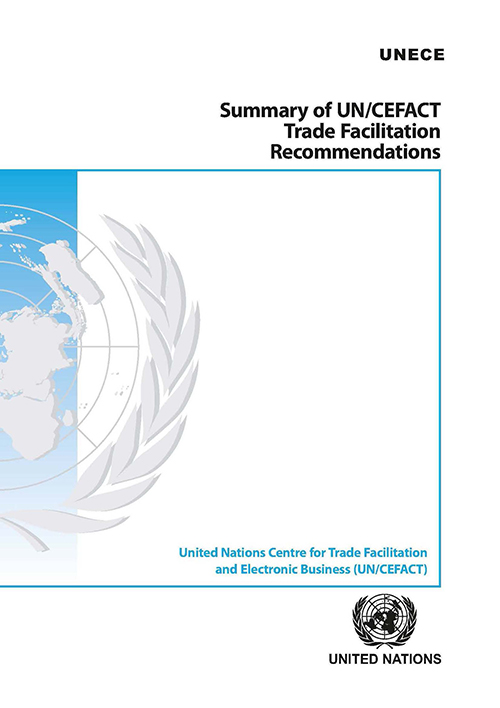SUMMARY UNECE TRADE FACILITATION