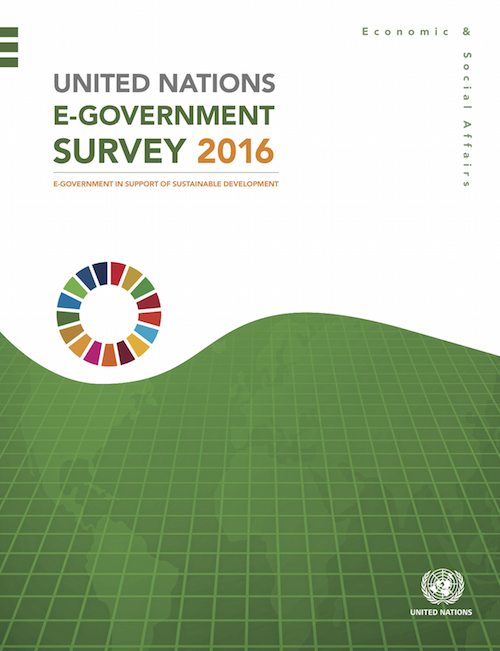 UN E-GOVERNMENT SURVEY 2016