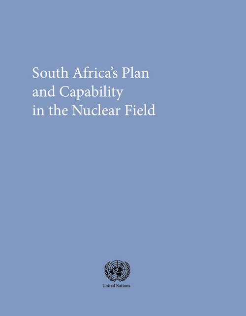 SOUTH AFRICA PLAN CAPAB NUCLEAR