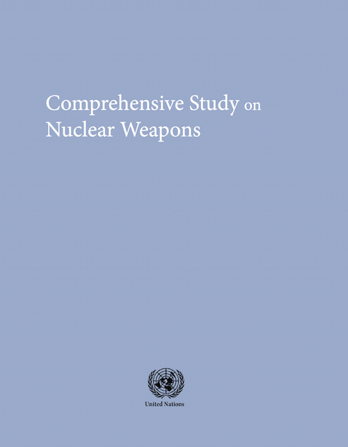 COMPREHEN STUDY NUCLEAR WEAPONS