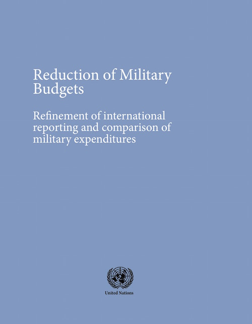 REDUCTION OF MILITARY BUDGETS