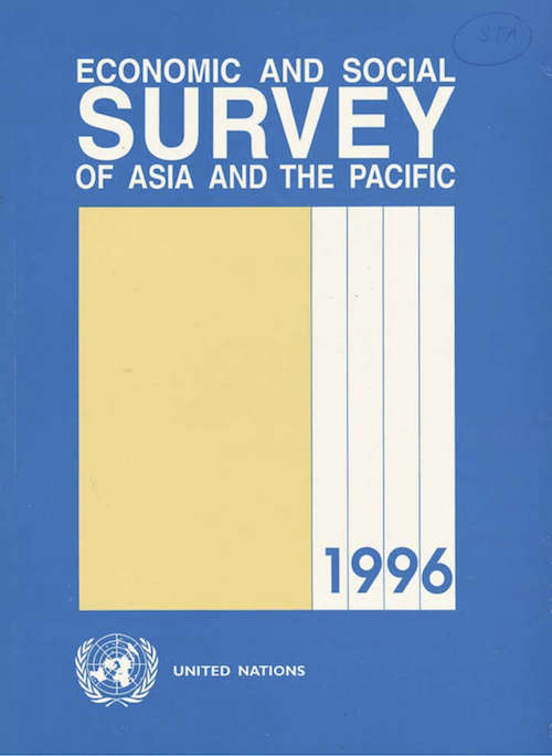 ECON SOC SURVEY ASIA PAC 1996