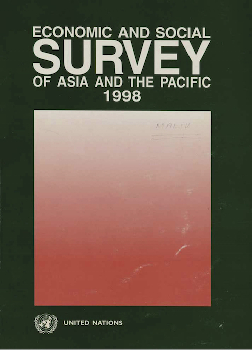 ECON SOC SURVEY ASIA PAC 1998