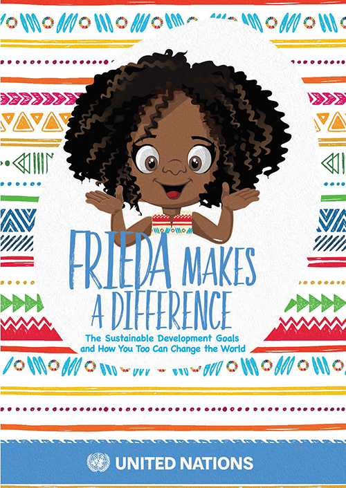 FRIEDA MAKES A DIFFERENCE (PB)