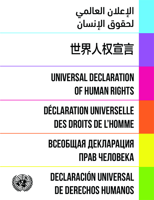 UNIV DECLAR HUMAN RIGHTS (M) HC