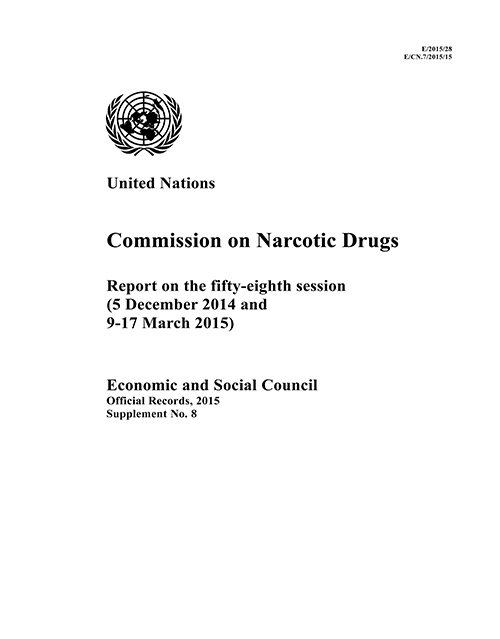 EOR 2015 SUPP8 NARC DRUGS