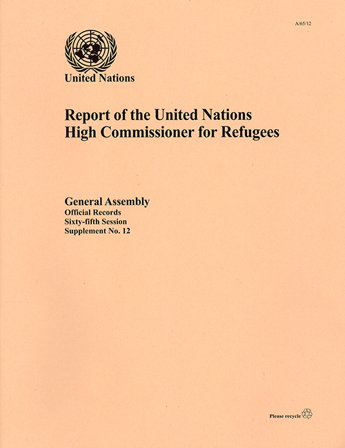 GAOR 65TH SUPP12 UNHCR RPT