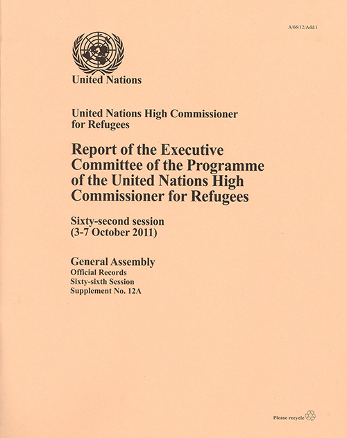 GAOR 66TH SUPP12A EXEC COMM UNHCR